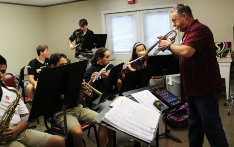 Band director expresses need for musical influence in students' lives