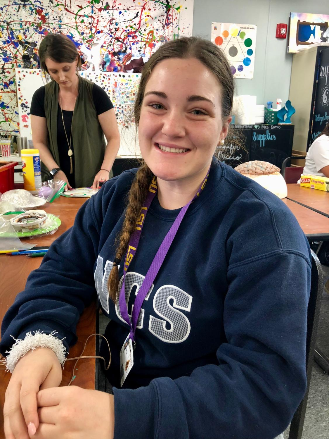 Giovanna May is one of 10 lifers who will graduate this May.