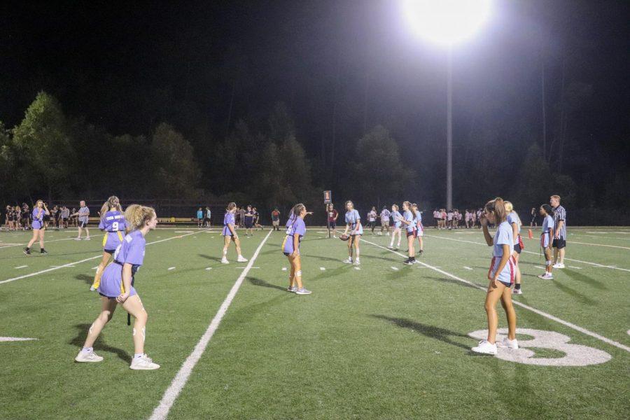 Juniors take home win in annual powderpuff game