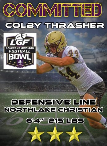 Northlake Christian Senior Colby Thrasher receives invite to Louisiana Gridiron Football All-Star Bowl Game