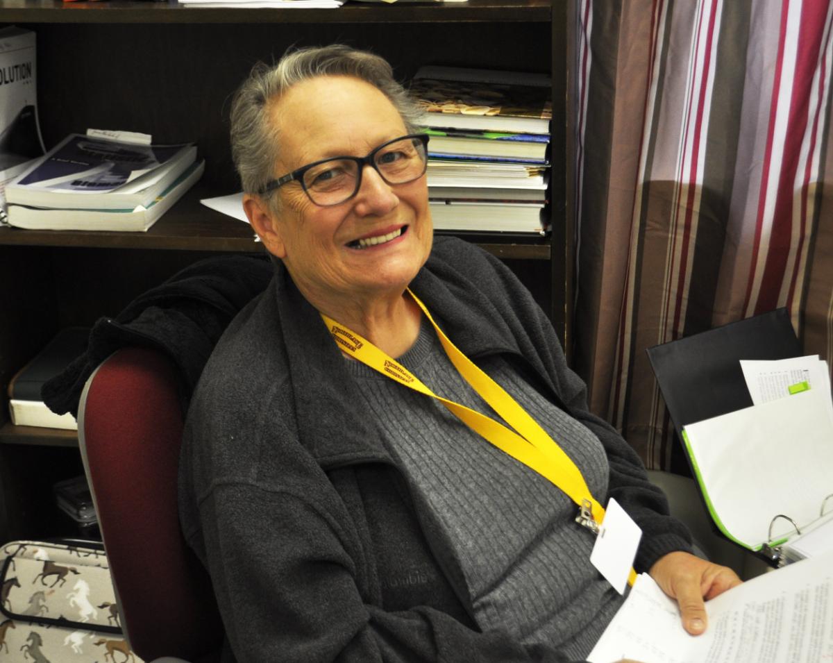 New teacher, Dr. Porter, shares her story