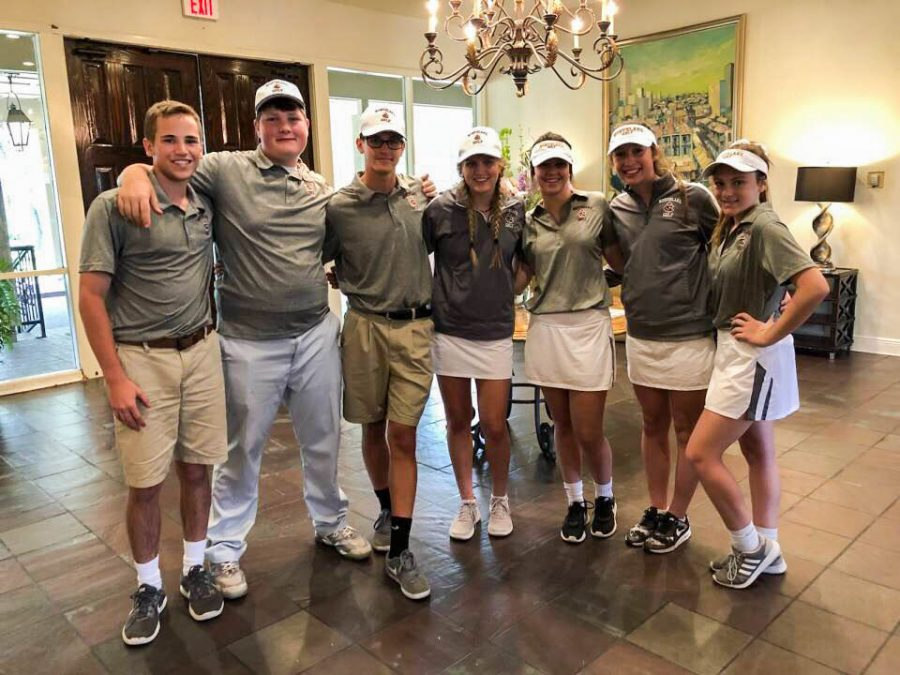 The Northlake golf team was only newly formed this year after students unexpectedly joined.