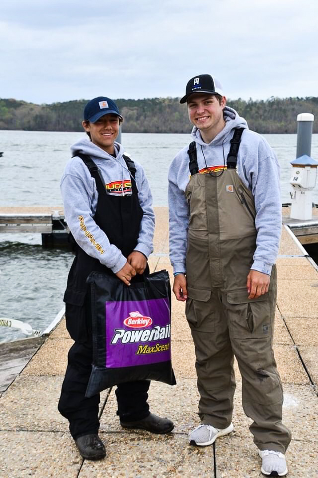 Sam Acosta (left) and Chris Capdeboscq compete in multiple tournaments, taking them to the National Championship.