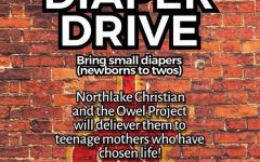 Northlake Christian partners with OWEL Project to host Diaper Drive